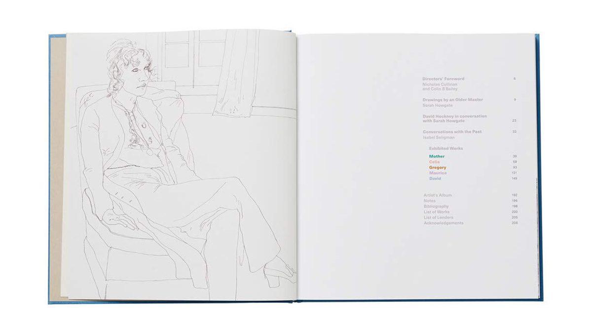 David Hockney Drawings From Life 4