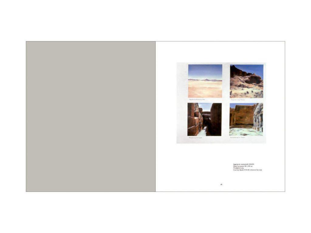 Gerhard Richter- Landscape 6