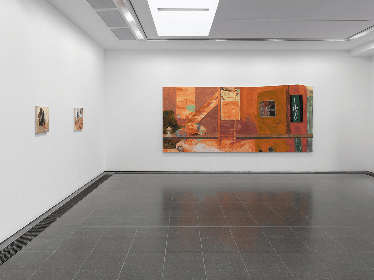 Jennifer Packer: The Eye Is Not Satisfied With Seeing (Installation view, 5 December 2020 – 14 March 2021, Serpentine Galleries) Photo: George Darrell