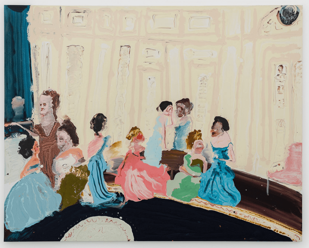 Genieve Figgis Exhibition at Almine Rech London 2020