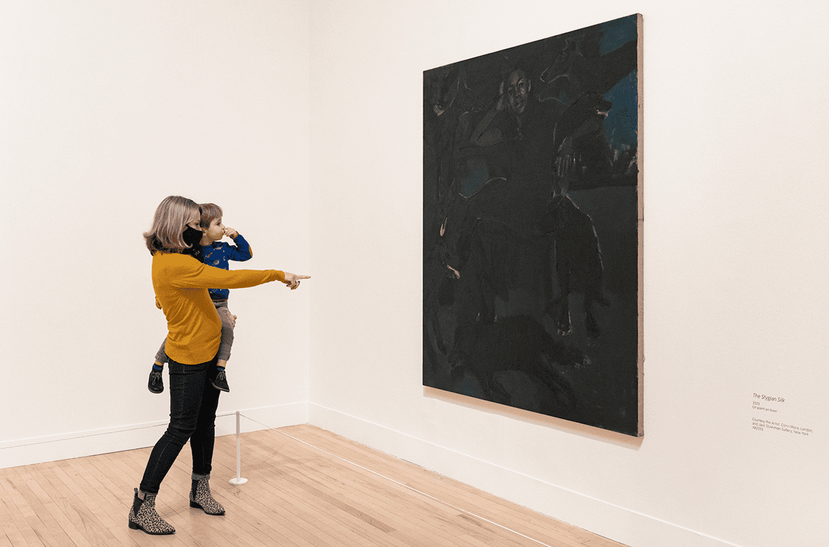 Lynette Yiadom-Boakye: Fly In League With The Night at Tate Britain 2020. Photo: Tate (Seraphina Neville)