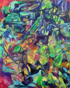 Josip Tirić, Toy story, 2021, Oil on canvas, 100 x 80 cm, 39.3 x 31.5 in, © The Artist