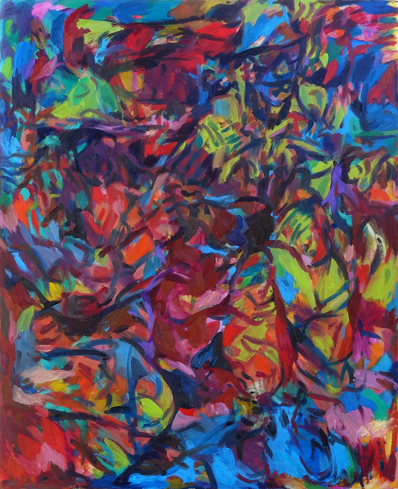 Josip Tirić, Toy story 2, 2021, Oil on canvas, 110 x 90 cm, 43 x 35.4 in, © The Artist