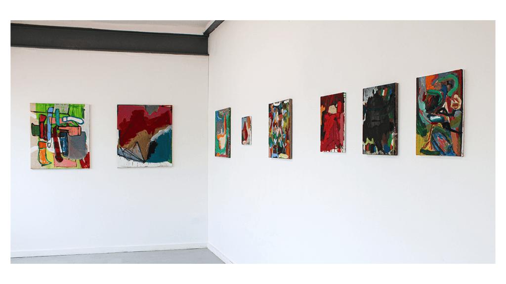 Karl Bielik: London Paint Club Exhibition