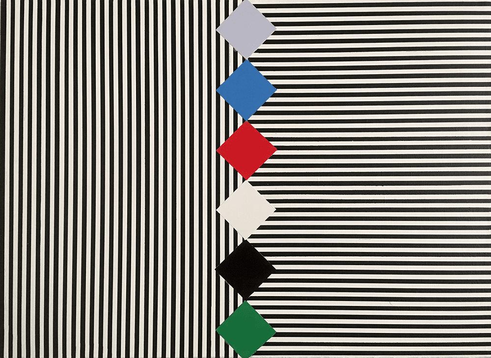Ashley Collin Untitled, 2018 Oil on canvas 40.6 x 50.9 cm £1,100 © The Artist