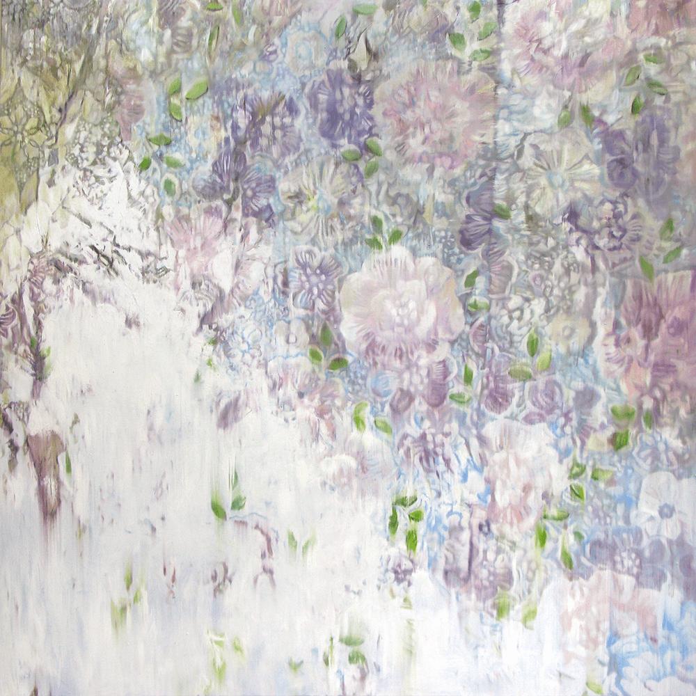 Yoon Suk One, Calendula 2, 2020, Oil on canvas, 130 x 130 cm, £11,000, © The Artist