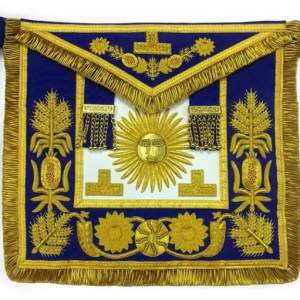 Deluxe Masonic Past Grand Master Apron Grand Lodge