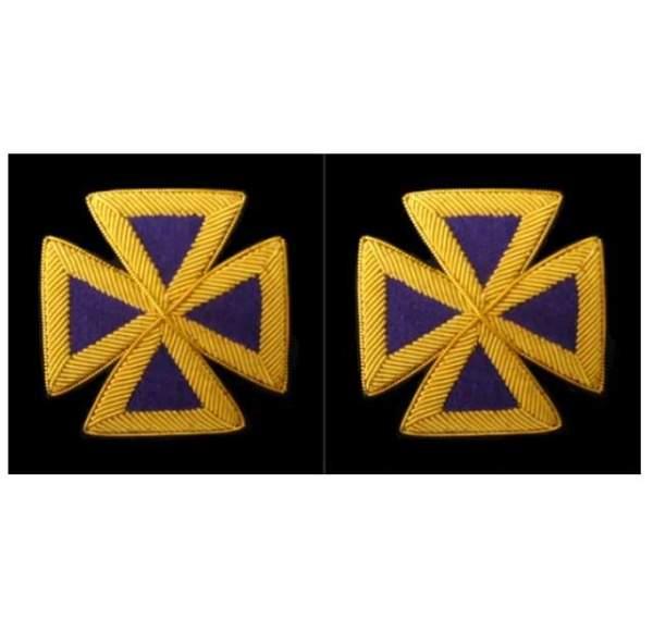 Knight Templar Sleeve Crosses Past Grand Commander