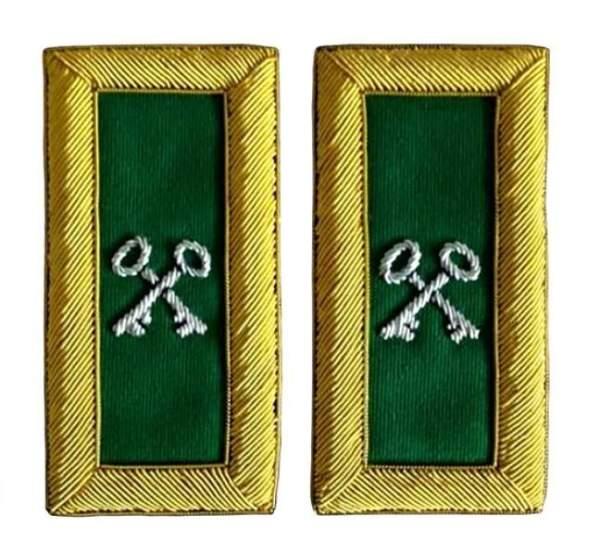 Knight Templar shoulder boards Treasurer londonregalia.com