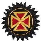 Knights Templar Chapeau Rosettes Grand Commander