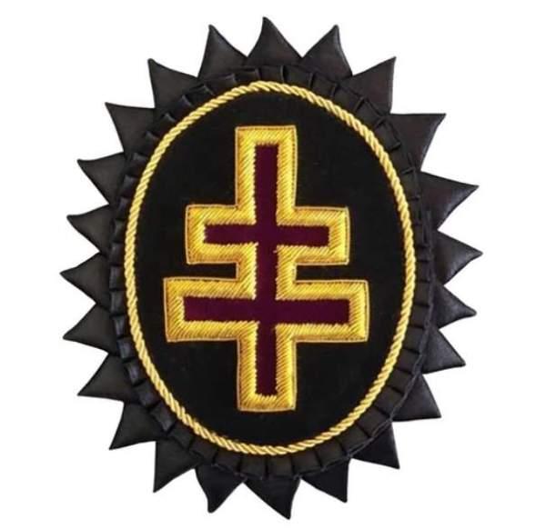 Knights Templar Chapeau Rosettes Grand Encampment Officer