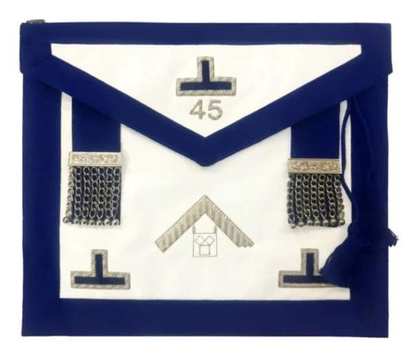 Masonic Apron - Pennsylvania Regulations past master apron