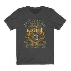 Masonic T Shirt with printed logo