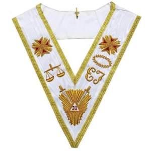 Rose Croix Scottish Rite 31st Degree Collar