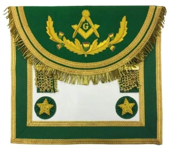 Scottish Rite Master Mason Handmade Embroidery Apron