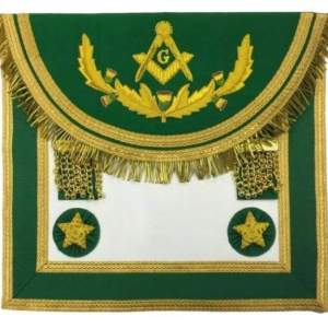 Scottish Rite Master Mason Handmade Embroidery Apron