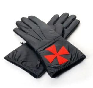 Masonic Gloves Black