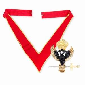 32nd Rose Croix Collarette Eagle jewel