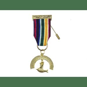 Royal Ark Mariner Members Breast Jewel Gold Platted