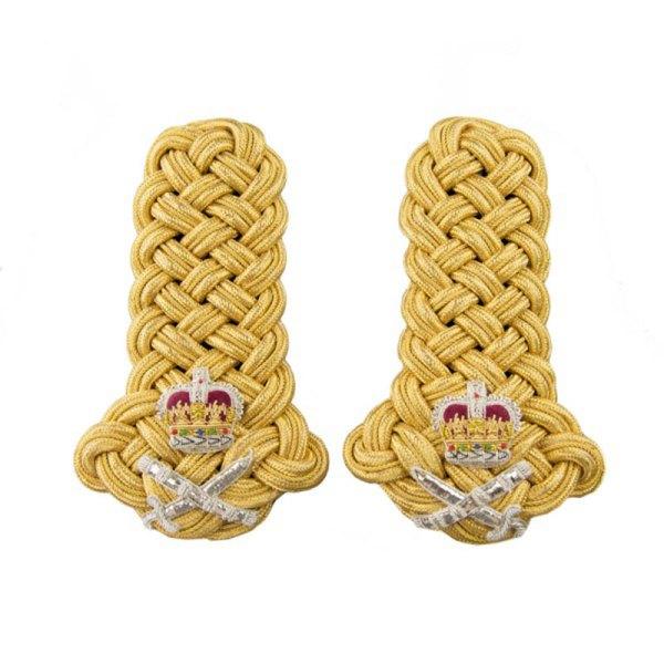 British Army Lieutenant Colonel Gold Epaulette