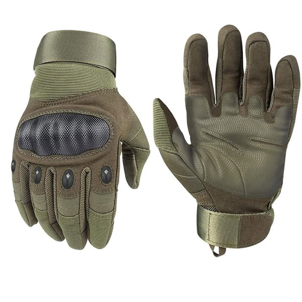 Full Finger Hard Knuckle Military Tactical Gloves