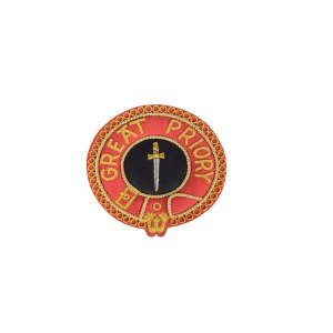 Knights Malta Great Priory Mantle Badge
