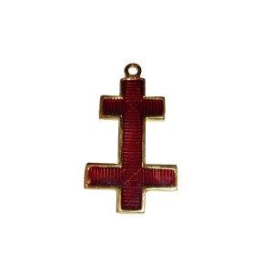 Knights Templar Preceptor Collarette Cross Jewel