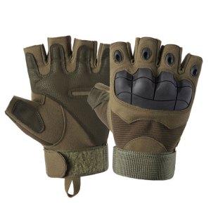 Half Finger Hard Knuckle Military Tactical Gloves