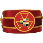 Royal Arch Past High Priest PHP Cap Red