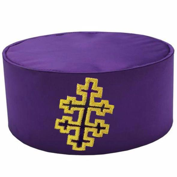 33rd Degree Scottish Rite Embroidery Purple Cap