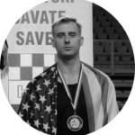Savate combat instructor Jon Schwochert
