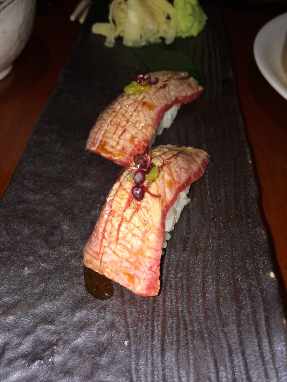 LondonsDiningCouple Novikov Asian Review | Top 10 Sushi Dishes in London