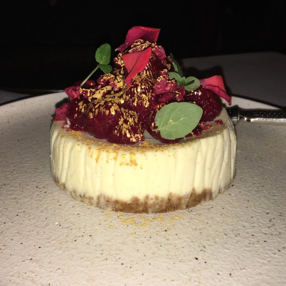 LondonsDiningCouple Sexy Fish Review vanilla cheesecake | Top 10 Desserts in London