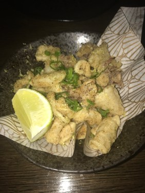LondonsDiningCouple Sexy Fish Review - salt and pepper squid