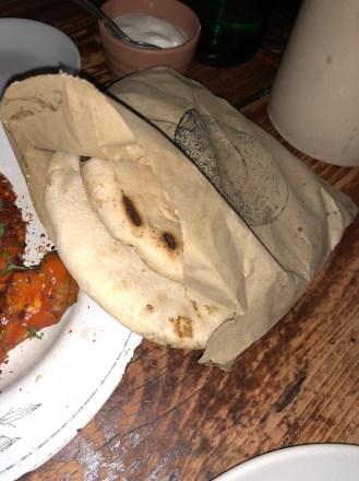 Pitta bread - Berber & Q Review