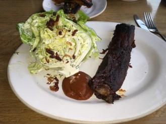 PIT BEEF Bibb Lettuce, Bacon & Shallot Crumble, Bacon Jam