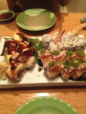 The one time Shiima tried Sushi :)