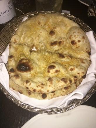 Saffron Naan Bread