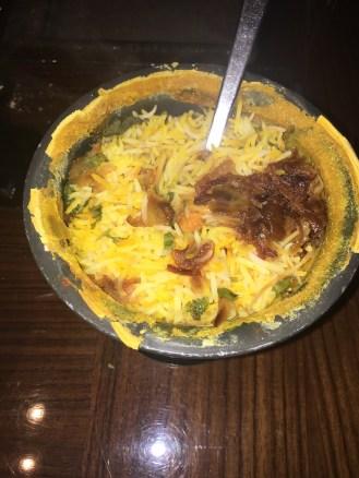 Rampur Chicken Biryani