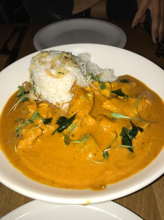 Konkan Chicken with Basmati Rice