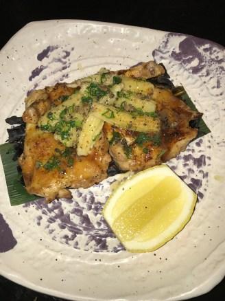 Miso-Glazed Baby Chicken