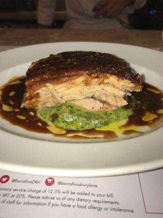 Pork Belly with Mojo Verde