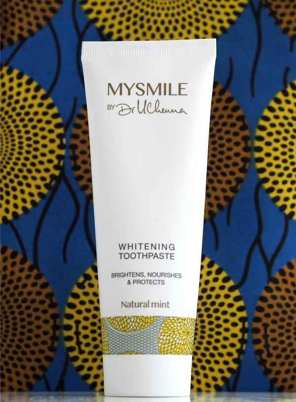 MYSMILE Toothpaste and bag