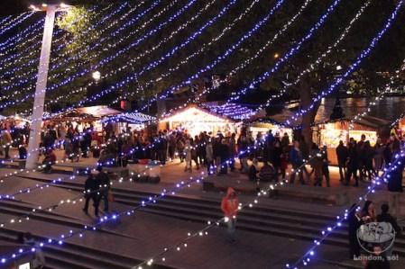 Natal em Londres.
