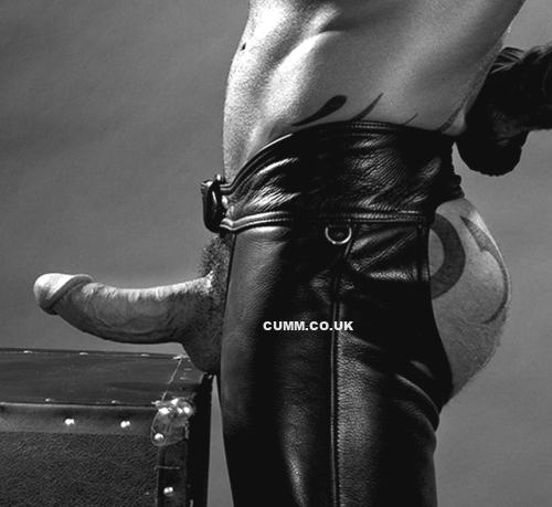 Hung Leather Daddy Fetish