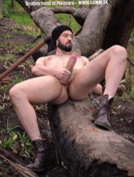 Big Mature Cock of the Month lumbersexuaal wood