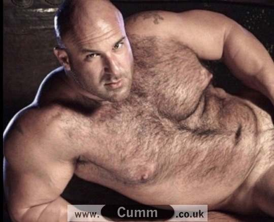 My first hairy hung daddy