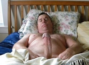 Quality Cock Time daddy in bed