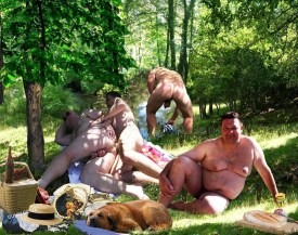 bear orgy outdoors woods dreams of riding a cock