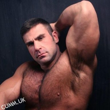 hairy male armpit smell